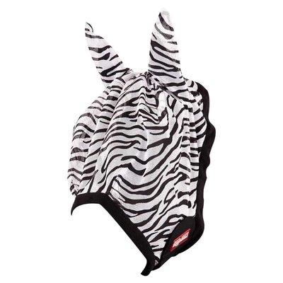 Premiere Vliegenmasker Animal Print met Oren -Zebra A5015