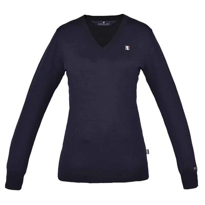 Kingsland Classic Pullover Dames - Navy, XL