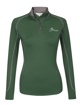 LeMieux Climate Layer Hunter Green