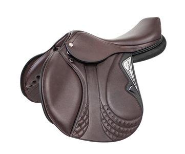 Equiline saddle J Challenge D leather brown